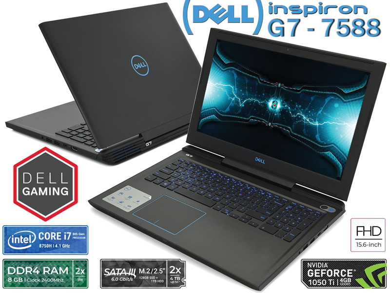 Dell Inspiron G7 7588 Gaming (70183902)