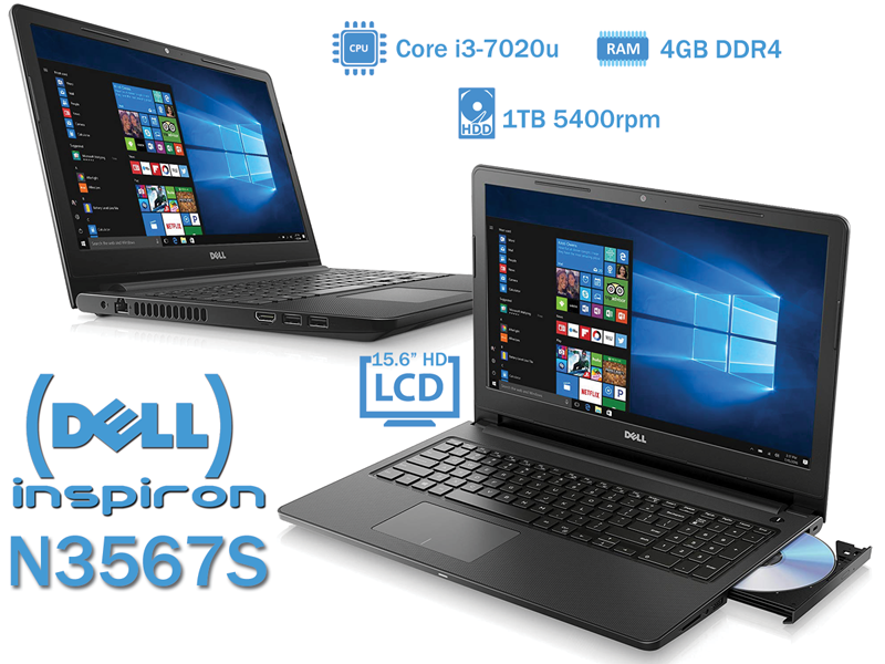 Dell Inspiron N3567S Black